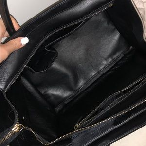 Celine Bags - Smooth Calfskin Suede Tricolour Mini Luggage